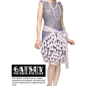 Women's Great Gatsby Daisy Buchanan Bluebells Dress