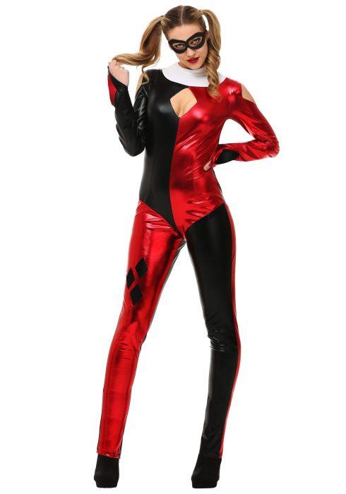 Women's Hot Court Jester Costume