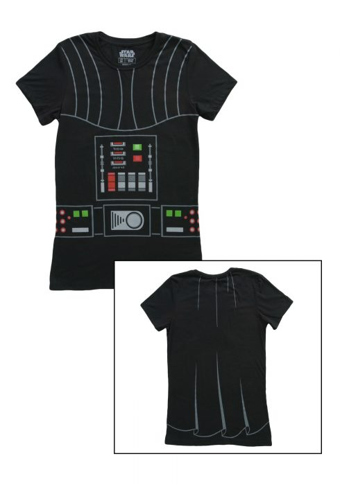 Women's I Am Darth Vader Costume TShirt