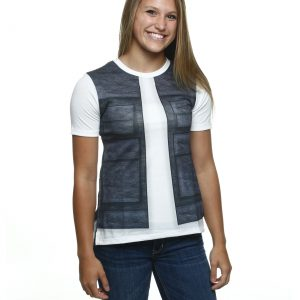 Womens I Am Han Solo Vest T-Shirt