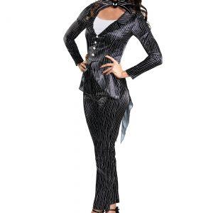 Women's Jack Skellington Deluxe Costume