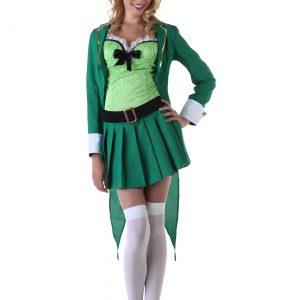 Womens Lucky Leprechaun Costume