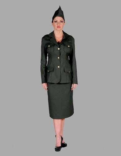 Women's Military Costume
