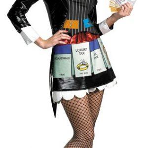 Women's Monopoly Costume