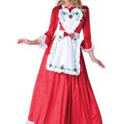 Women's Mrs. Claus Costume