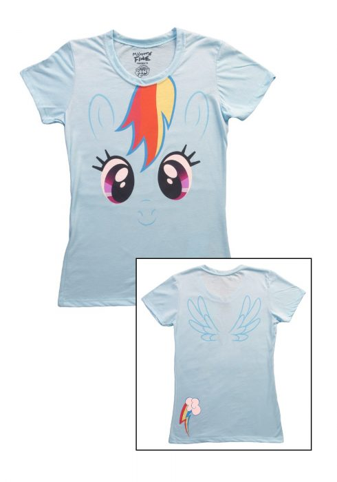 Womens My Little Pony Rainbow Dash T-Shirt