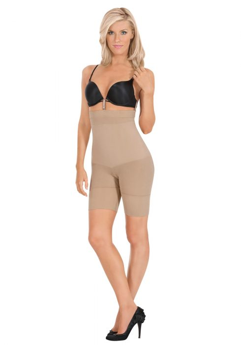 Women's Nude High Waist Boxer Shaper