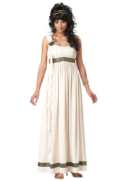 Womens Olympic Goddess Costume