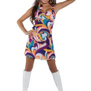 Women's Peace Mini Dress Costume