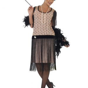 Women's Plus Size 1920s Coco Flapper Costume