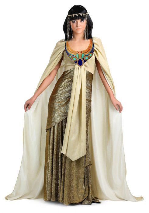 Women's Plus Size Golden Cleopatra