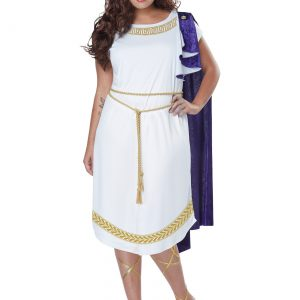 Women's Plus Size Grecian Dress