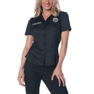 Women's Plus Size Police Shirt
