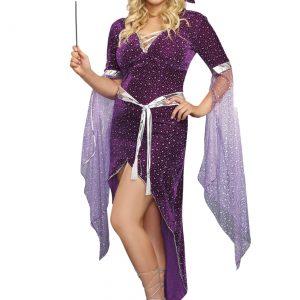 Women's Plus Size Sorcery & Seduction Costume