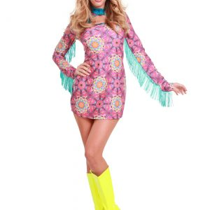 Women's Plus Size Summer of Love Hippie Costume