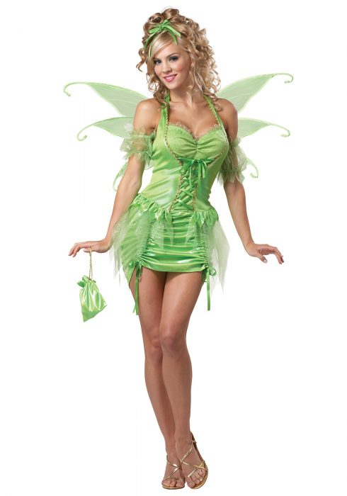 Women's Plus Size Tinkerbell Fairy Costume