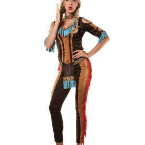 Women's Plus Size Tribal Native American Costume