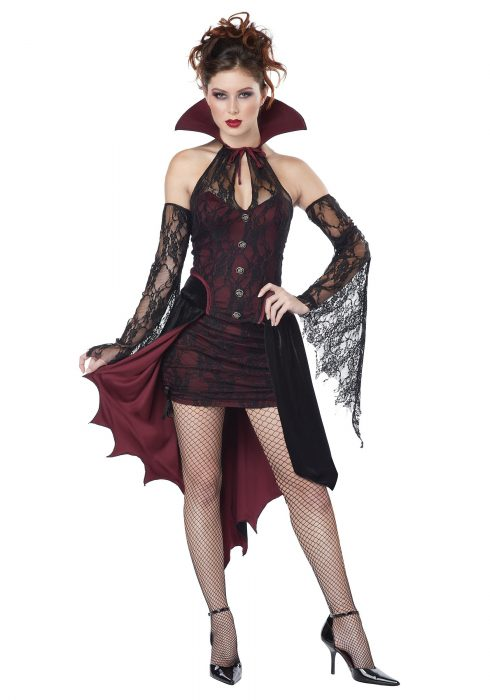 Women's Plus Size Vampire Vixen Costume