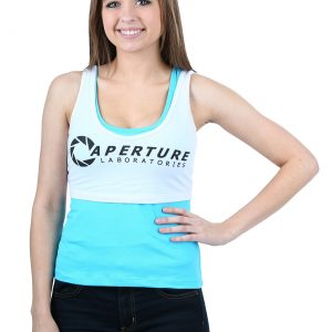 Womens Portal Chell Double Layer Tank