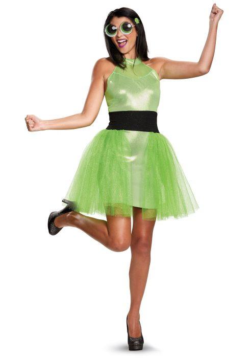 Women's Powerpuff Girls Buttercup Deluxe Costume