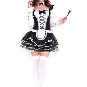 Women's Pretty Proper French Maid Costume