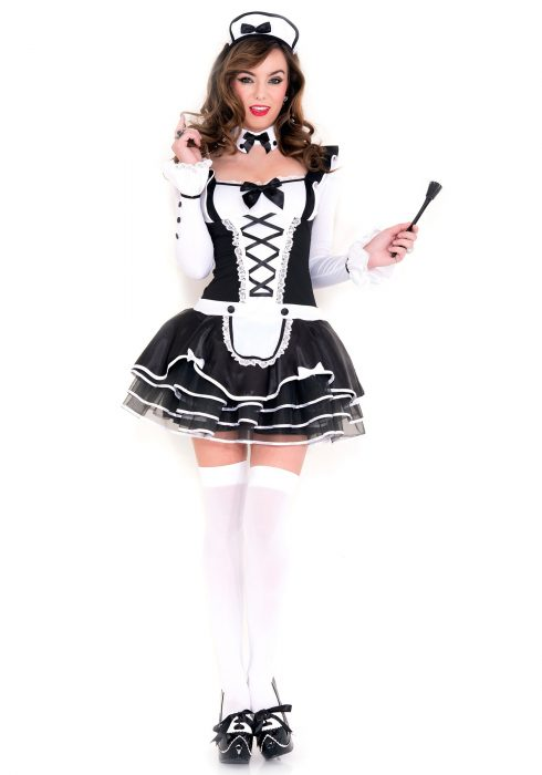 Women's Pretty Proper French Maid Costume