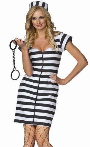 Womens Prisoner Costume