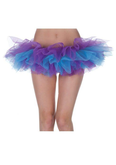 Womens Purple and Blue Tutu