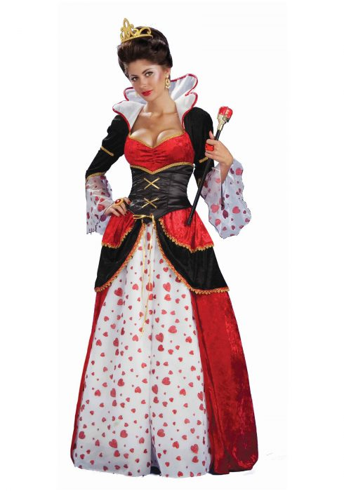 Women's Queen of Hearts Costume