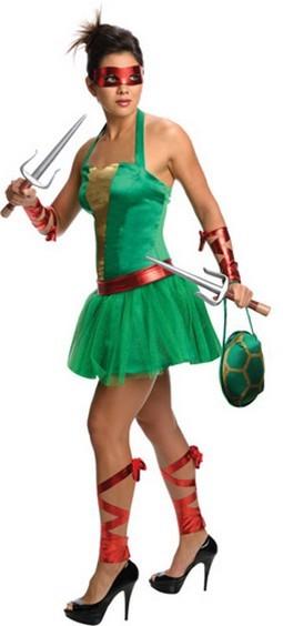 Women's Raphael TMNT Costume