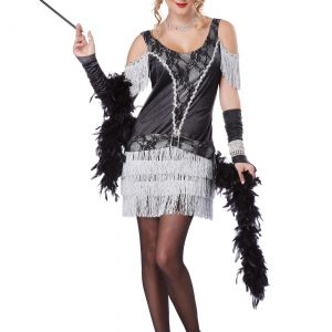 Womens Razzle Dazzle Flapper Dress