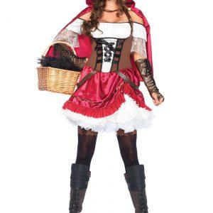Women's Rebel Red Riding Hood Costume