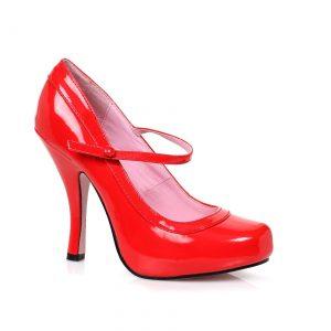 Women's Red Baby Doll Heels