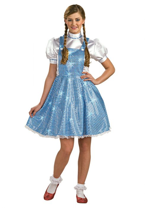 Womens Sequin Dorothy Costume