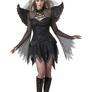 Womens Sexy Fallen Angel Costume