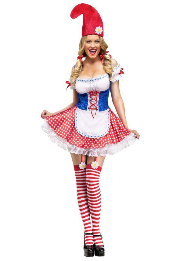 Womens Sexy Gnome Costume