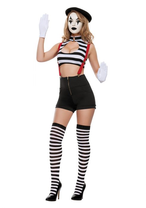 Women's Sexy Mime Costume