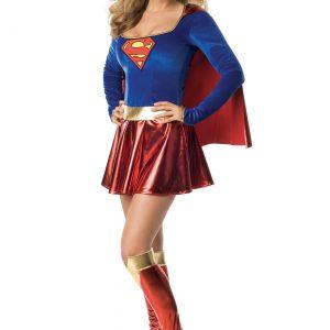 Women's Sexy Supergirl Costume