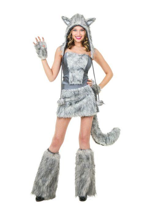 Women's Sexy Wolf Costume