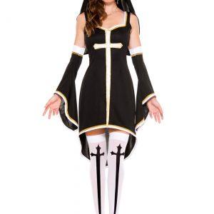 Women's Sinfully Hot Nun Costume