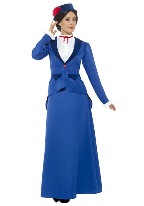 Women's Singing Nanny Costume
