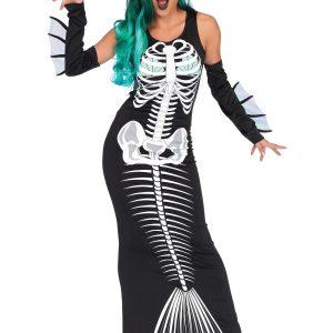 Women's Skeleton Siren Costume