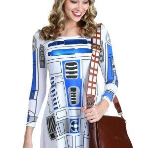 Womens Star Wars I am R2D2 Skater Dress