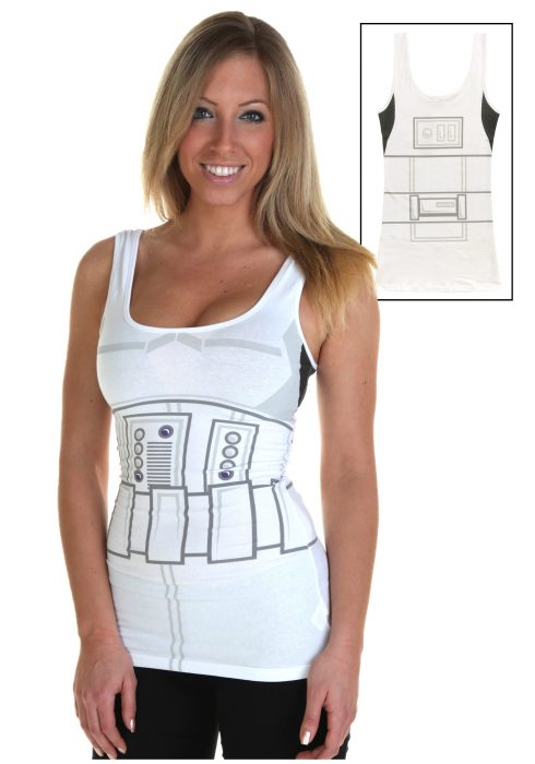 Womens Stormtrooper Tank Top
