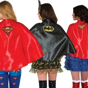 Women's Superhero Capes Trio Pack