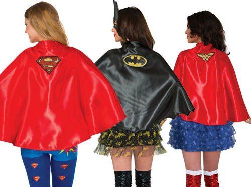 Women's Superhero Capes Trio Pack