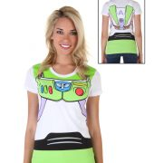 Women's Toy Story Buzz Lightyear Costume T-Shirt