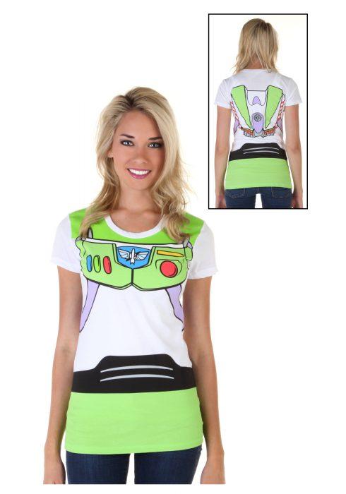 Women's Toy Story Buzz Lightyear Costume T-Shirt