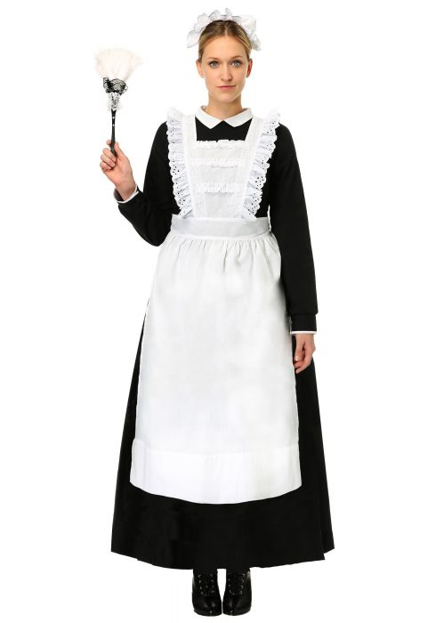 Womens Traditional Maid Plus Size Costume