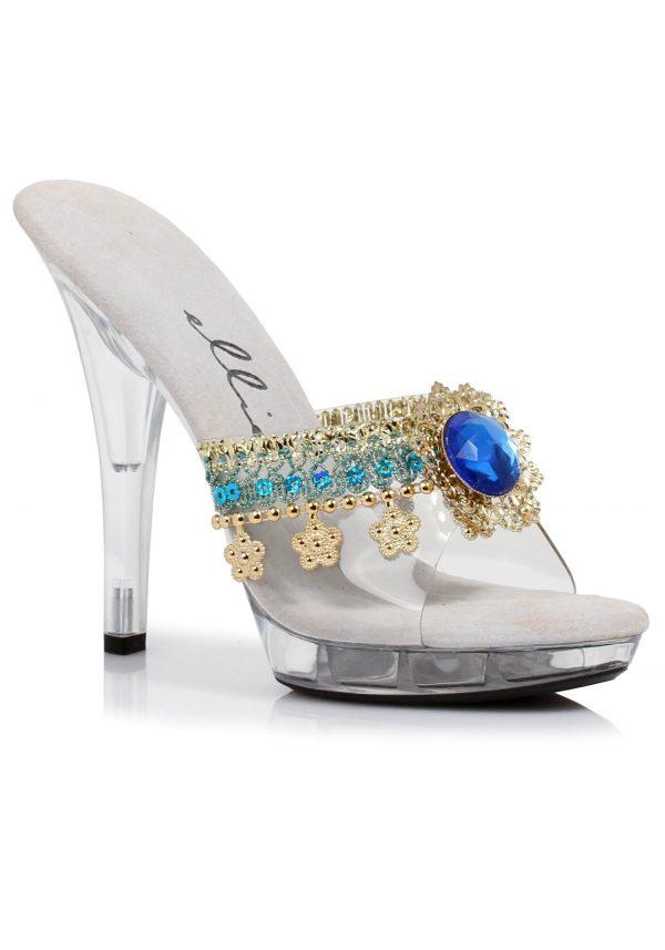 Womens Turquoise Gypsy Heels